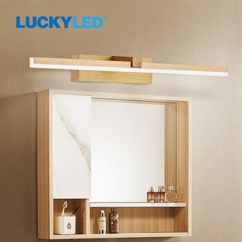 LUCKY LED Wall Lamp Bathroom Mirror Light 220v 110V 8W 12W Led Wall Light Waterproof Vanity Light Fixtures for Home Living Room