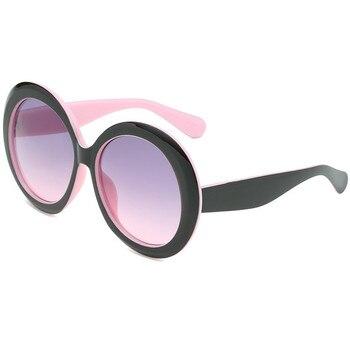 LeonLion 2019 Round Oversized Sunglasses Women Oval Sunglasses Women/Men Vintage Glasses for Women Luxury Oculos De Sol Gafas 2