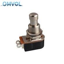SPST interrupteur momentané à pédale pied, avec bouton poussoir, souple, pour guitare électrique, 1 pièce