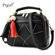Women Message Handbag Fashion Top-Handle Shoulder Bags Ptgirl Stylish Women Handbag PU Leather Cute Mini Messenger Женские сумки женские сумки lamarthe
