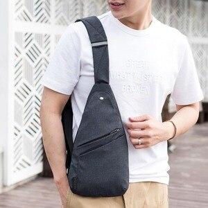 Image 5 - DIENQI 도난 방지 가슴 가방 남성 얇은 가슴 팩 홀스터 남자 가방 슬링 개인 포켓 Pauch 지갑 남자 크로스 바디 스트랩 핸드 가방