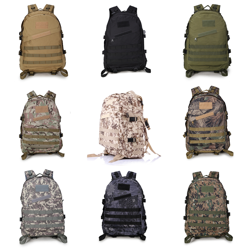 16Color Adult Army Tactical Bag Military Uniform Soldier Combat Camouflage Backpack Work Clothes Men Special Forces Accessories image