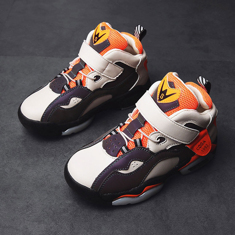 High-top Jordan Basketball Shoes Cushioning Jordan Shoes Kids Jordan Sneakers Basketball Sports Shoes Teenager Training Boots