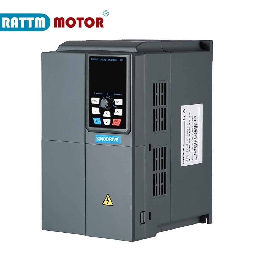 Gute qualität ZC1000-4T-7.5kw 380V inverter VFD 3 phase Ausgang Frequenz Konverter Einstellbare Geschwindigkeit 600Hz 17A/25A Geschwindigkeit control