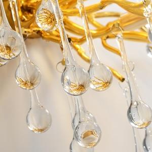 Image 4 - G9 קריסטל יוקרה LED קיר אור זהב נורדי טלוויזיה רקע קיר מנורה שליד המיטה השינה מסעדת קיר פמוטים AC90V  260 V