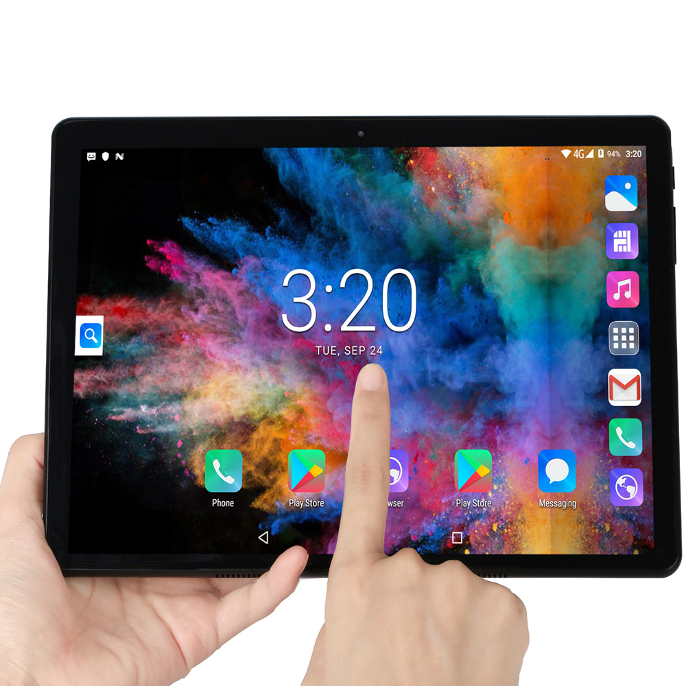 New Tablets 10.1 Inch Android 7.0 Quad Core Tablet Pc WiFi GPS Bluetooth Dual SIM Cards Google Play 10 Inch 2.5D Tempered Glass