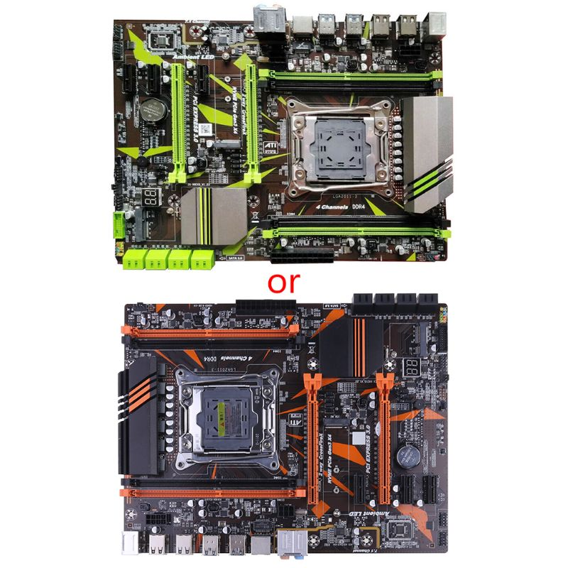 X99 LGA2011-V3 Professional 4 Channel DDR4 Desktop Computer Motherboard Module
