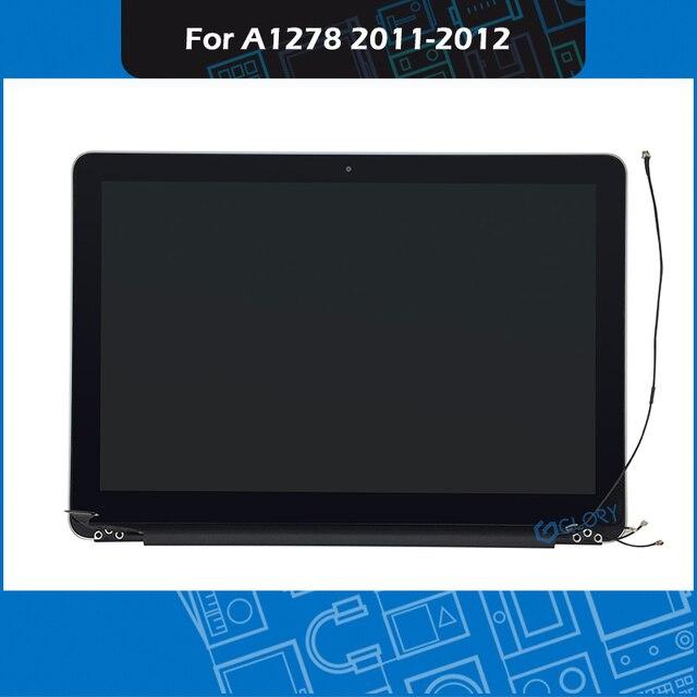 """A1278 Tela LCD assembléia 661 6594 para Macbook Pro 13 """"EMC A1278 Display Substituição 2011 2012 Ano 2419 2555 2554"""
