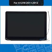 """Pantalla LCD A1278 para Macbook Pro 13 """"A1278, repuesto, 661, 6594, año EMC 2011, 2012, 2419"""
