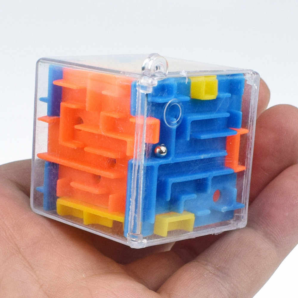 baby toys Hot Sale 3D Puzzle Maze Toy Hand Game Case Box Fun Brain Game Challenge Toys Balance Educational Toys for Children