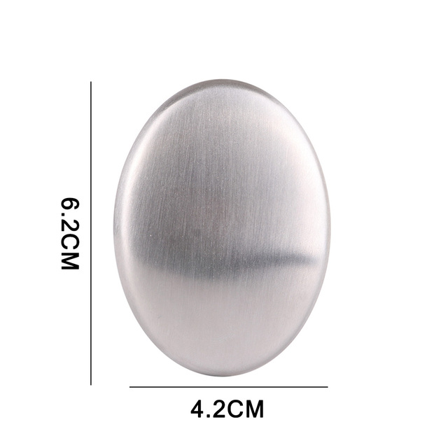 1 Pcs Remove Odor Bactericidal Stainless Steel Soap Kitchen Bar Eliminating Remove Odor Soap 5