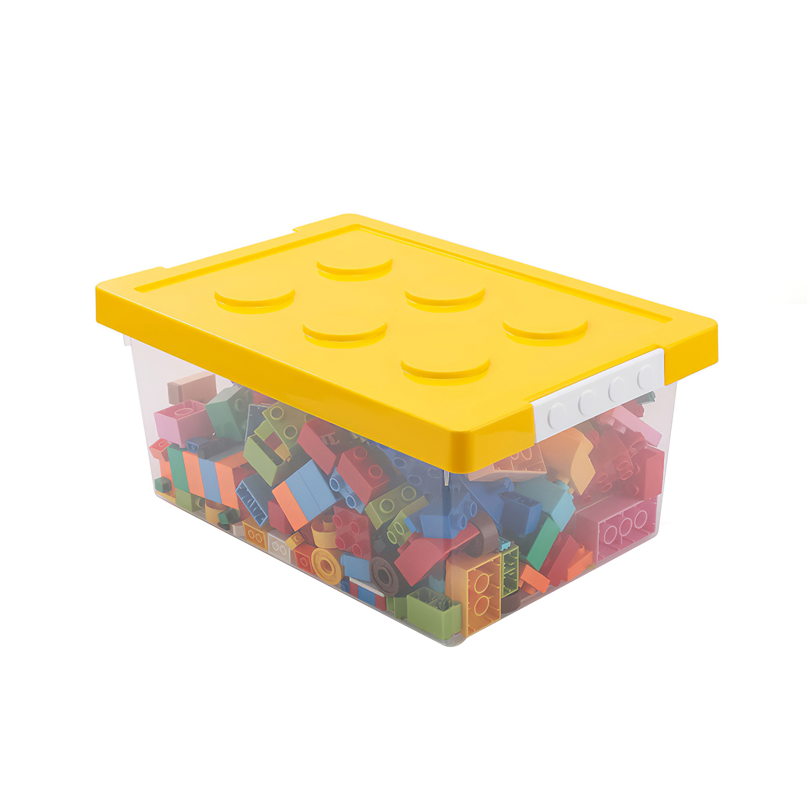 Building Block Storage Box Toys Organizer Kids Lego Box Stackable Block Case Container Desktop Stationary Holder