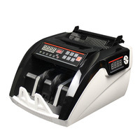 5800 UV/MG LED ekran ucuz banknot sayaç fatura coutner nakit para ve çok para sayma makinesi Fiancial ekipmanları|Para Sayacı/Dedektörü|   -