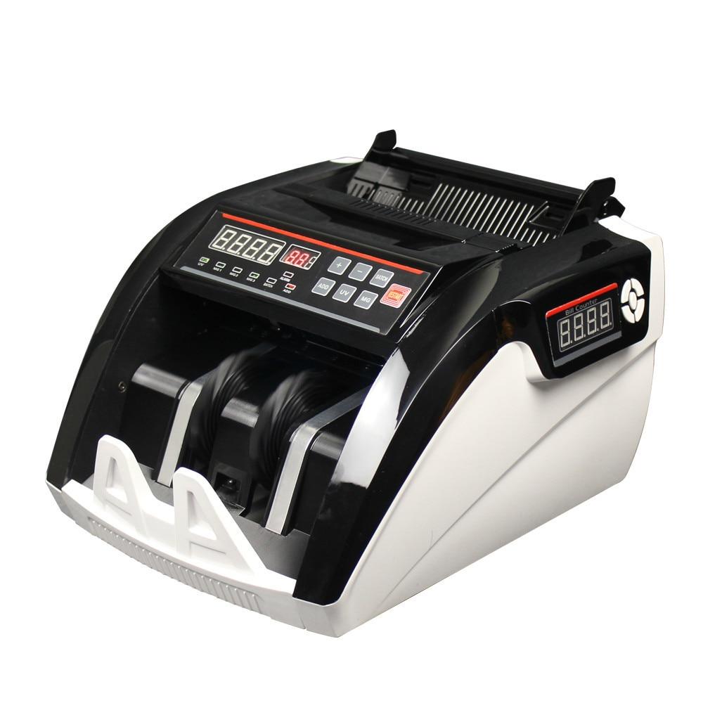 5800 uv mg display led barato contador de notas bill coutner dinheiro e multi moeda maquina