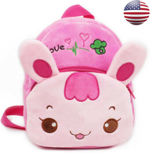 Hot Cute Baby Toddler Kids Child Mini Lovely 3D Cartoon Animal Backpack Schoolbag Shoulder Bag Gifts