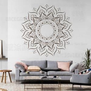 120 160cm Stencils For Walls Large Furniture Template Paint Big Mandala Painting Reusable Tile Flooring Patterns Ethnic S017