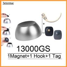 Golf Detacher 13000GS Magnetic Security Tag Detacher Anti Shoplifting Devices No Sound/Alarm Sensor Remover +1Alarm Tag