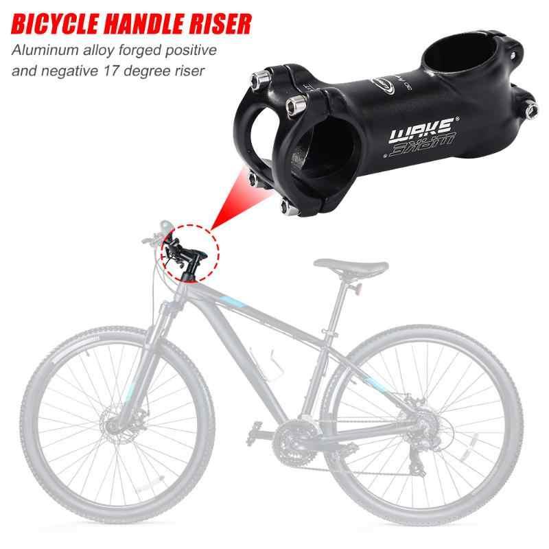 WAKE Bicycle Stem Aluminum 17 Degree MTB Bike Handlebar Stem 31.8x28.6mm