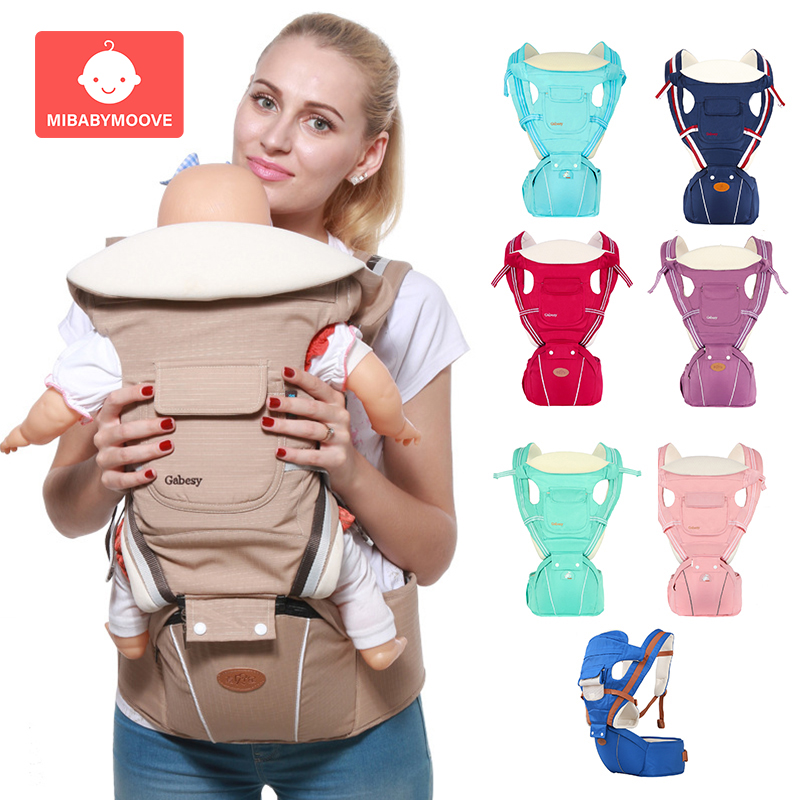 Baby Carrier Kangaroo Front Facing Baby Carrier Comfortable Sling Backpack Pouch Wrap Baby Kangaroo Hipseat For Newborn 0-36 M