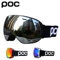 Двухслойные незапотевающие лыжные очки, лыжная маска для снегохода, лыжные очки для сноуборда, мужские и женские очки