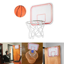 Внутренняя Складная портативная подвеска Free Punch мини пластиковая баскетбольная рама для детей набор баскетбольных обручей #40