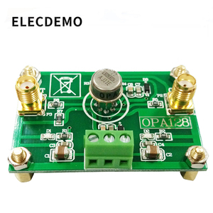 Image 1 - OPA128 Module Electrometer level charge operational amplifier low bias low offset 110dB gain high impedance