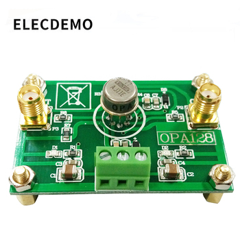 OPA128 Module Electrometer-level charge operational amplifier low bias low offset 110dB gain high impedance sakshi rajput low threshold and better gain charge pump