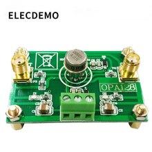 Opa128 módulo eletrometer nível carga amplificador operacional baixa viés baixa offset 110db ganho alta impedância