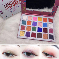 24 Colors Matte Pearlescent Waterproof Eye Shadow Pigment Eye Shadow Palette Lasting Eyeshadow Makeup Cosmetics TSLM1