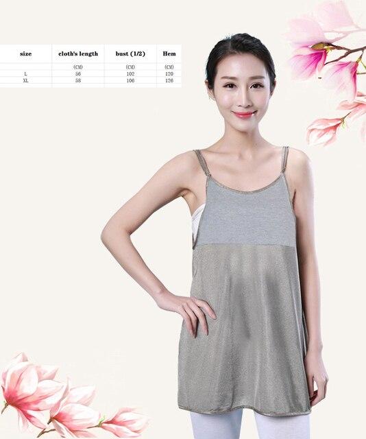 Radiation suit maternity dress cou