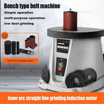 14 Inch Bench Type Sand Column Machine Shaft Sander Belt Machine Sanding Machine Woodworking Furniture Inner Circle Sanding Tool