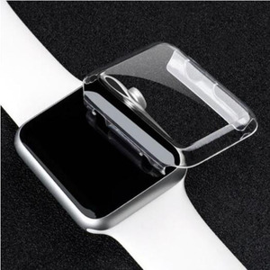 Image 2 - PC Hard Protective Case Shell Frame For iwatch Apple Watch Series 2/3/4/5/6/SE 38mm 42mm 40mm 44mm Screen Protector Glass Cover