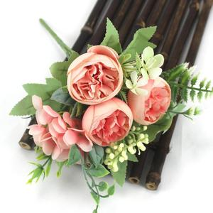Букет пионов из искусственного шелка|Искусственные и сухие цветы|   | АлиЭкспресс