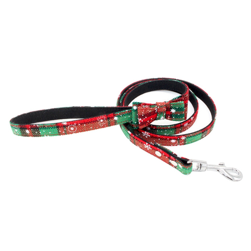 Christmas Pet Dog Leash Nylon Leash For Small Medium Dogs Cats Puppy Walking Running Leashes Lead Pet Supplies 120 1 5cm in Collars from Home Garden