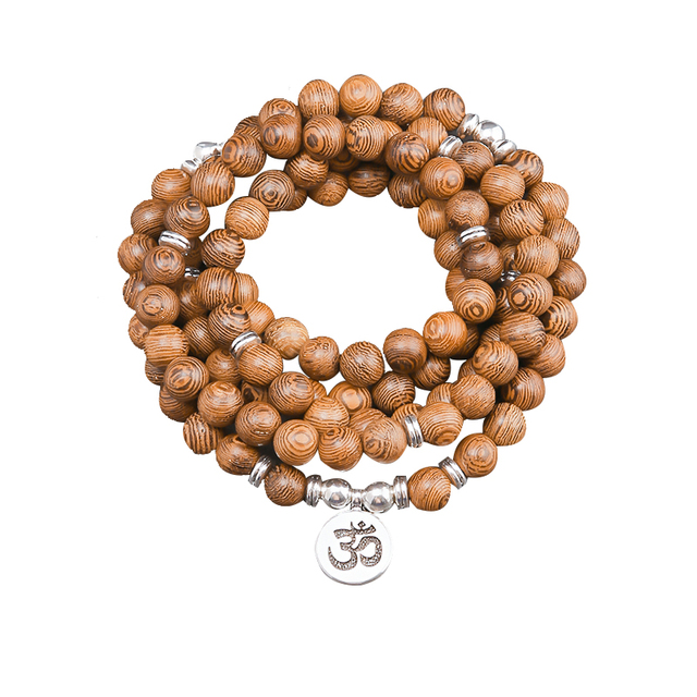 Bracelet Bois Tibetain