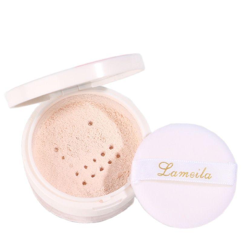Pressed Powder Matte Oil Control Setting Loose Powders Long-Lasting Brightening Skin Concealer Waterproof Whitening Foundation