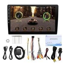10,1 дюймов настоящий Android 8,1 автомобильный Радио Автомобильный gps навигатор Wifi Bluetooth Автомобильный Mp5 мультимедийный плеер с 12LED тыловой камерой