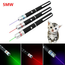 цена на 5MW LED Laser Pet Cat Toy Red Dot Laser Light Toy Laser Sight 530Nm 405Nm 650Nm Pointer Laser Pen Interactive Toy with Cat