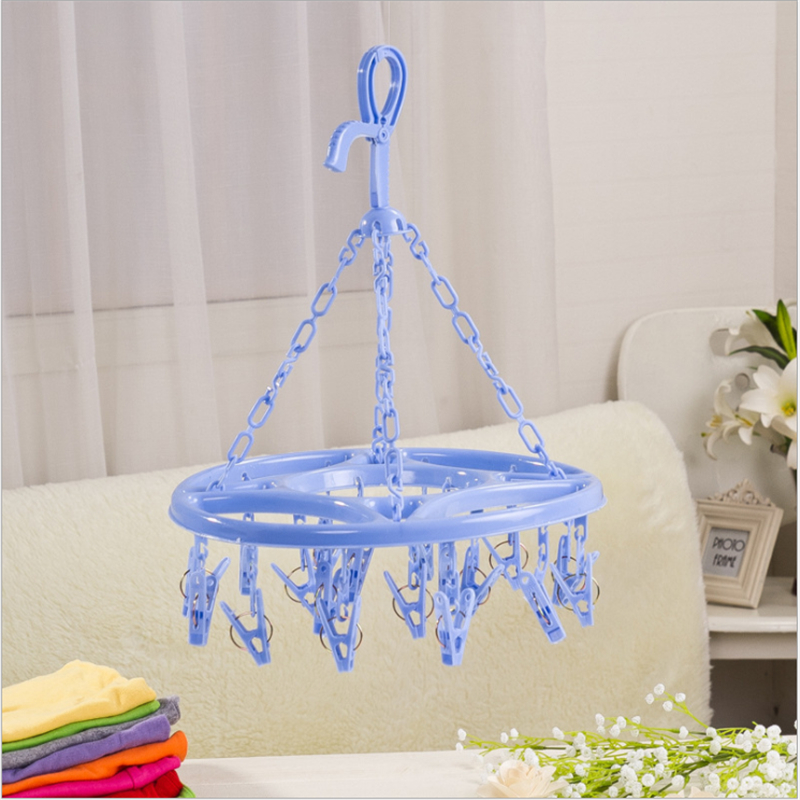 1pc Plastic Drying Rack Round Drying Rack Pantyhose Drying Rack Spring Plastic Drying Rack Clothes Racks For Hanging Clothes