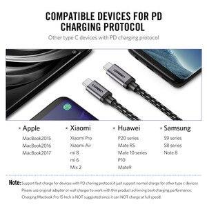 Image 5 - Tipo C 3.1 USB Ugreen USB C Macho a Tipo de Cable Macho 5X Cable Cargador rápido para Xiao 4C Nexus, Nexus 6 P, OnePlus 2, ZUK Z1, Nokia N1