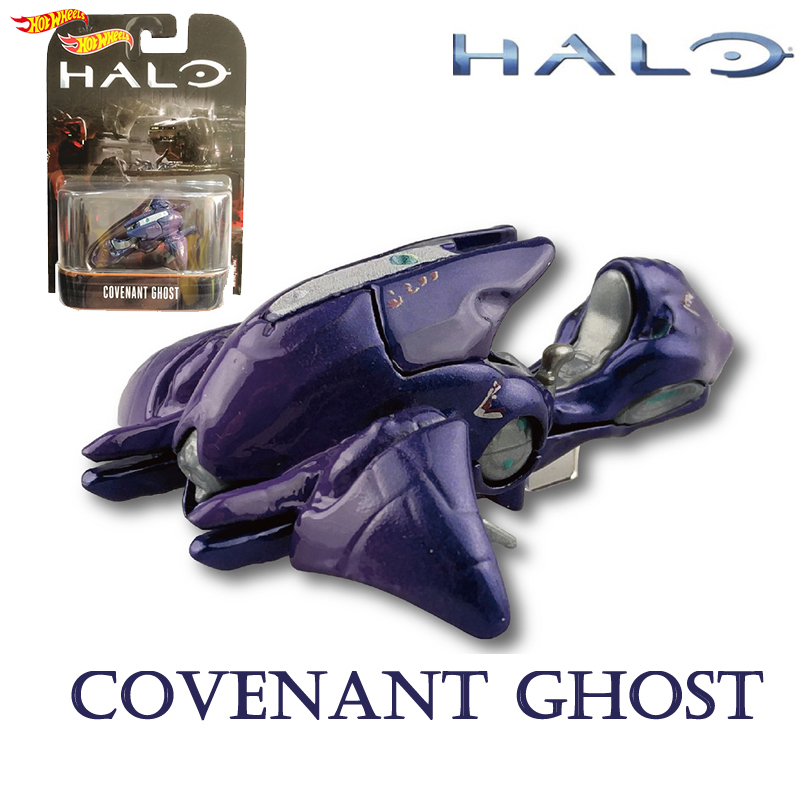 Hot Wheels Car Halo War Series 1/64 Classic Movie Game Theme Car Model Collection  toys of children COVERNAN GHOST DMC55