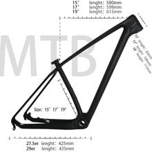 Mountain-Bikes-Frame Carbon-Bike T1000 29er China Mtb Cheap UD 15-17