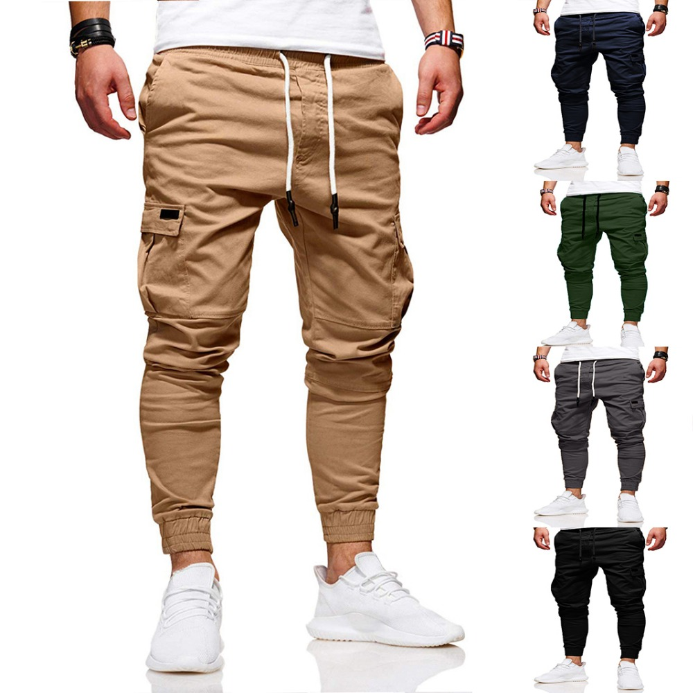 New 2020 Men Casual Joggers Pa…
