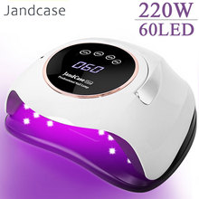 New Arrival UV LED Nail Lamp Gel Lacquer Dryer Gel Polish Curing Light Sun UV Manicure Gel Lamps with Timer 60LED Nail Art Lamp