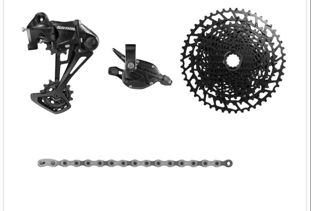 2020NEW SRAM SX EAGLE 1x12 11-50T 12 speed MTB Groupset Kit Trigger Shifter Derailleur Chain with NX EAGLE cassette