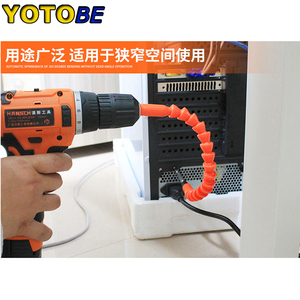 Image 4 - 300mm Flexible Hex Shaft Drill Bits Extension Bit Holder with Magnetic Connect Drive Shaft Electric Drill Power Tool Accessories