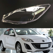 Car Headlight Lens For Mazda 3 Speed Transparent Car Headlight Headlamp  Lens Auto Shell Cover