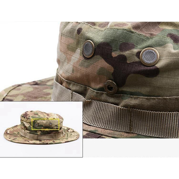 Tactical Boonie Hat Army Fisherman Cap Military Training Sun Protector  Hat Outdoor Sports Camouflage Fishing Hiking Hunting Cap 4