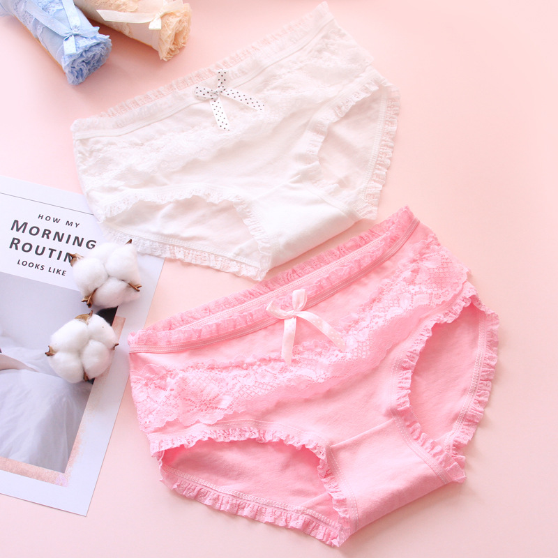 Lace Underwear Briefs - Days Of Week Leakproof Brief Protective Big Girl's Soft Underwear For Menstruation Incontinence 1 Piece