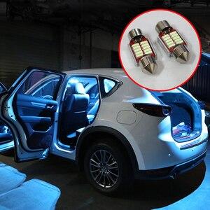Image 1 - 5x Festoen 31Mm C10W Led Lamp Auto Interieur Licht Kit Dome Leeslampjes Trunk Licht Voor Mazda CX 5 CX5 ke Kf 2012 2018 2019 2020